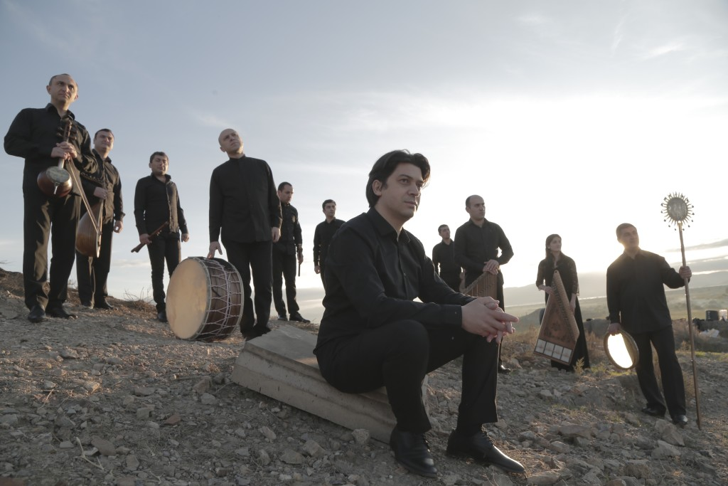 "After a concert in Belgium a German couple offered support to the Gurdjieff Ensemble. ""I wish we could have sustained sponsorships,"" says Levon Eskenian, the artistic director of the ensemble, who has collaborated with different festivals and organizations around the world, also, with the Gulbenkian Foundation and the Ministry of Culture of Armenia, and is open for collaborations with Armenian organizations.  (Photo: Andranik Sahagyan / gurdjieffensemble.com)"